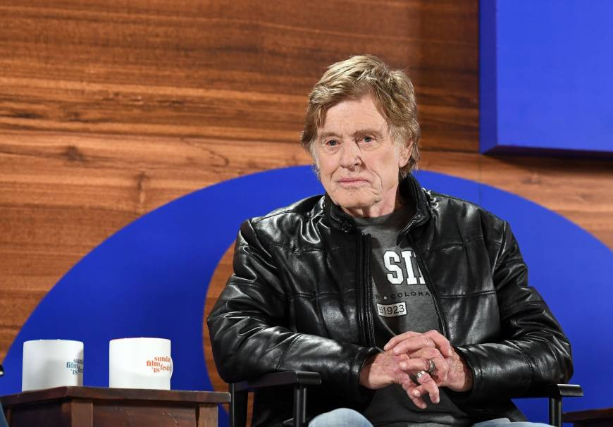 Robert Redford: #MeToo is 'tipping point' for Hollywood